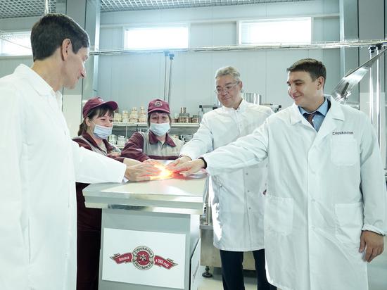 На ликеро-водочном заводе Ставрополя открыли новую линию производства