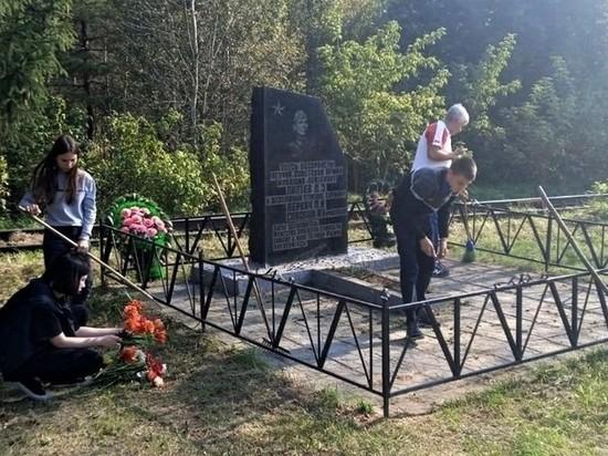 Школьники Брянщины навели порядок на вониских захоронениях