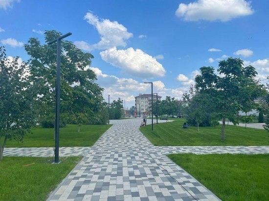 В сквере Ставрополя делают сухой пешеходный фонтан