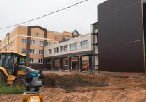 Дата сдачи новой великолукской школы сдвинулась из-за возросших цен на стройматериалы