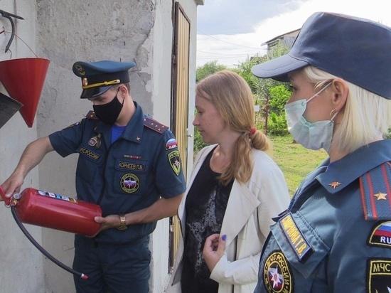 В Курской области отмечается снижение числа пожаров