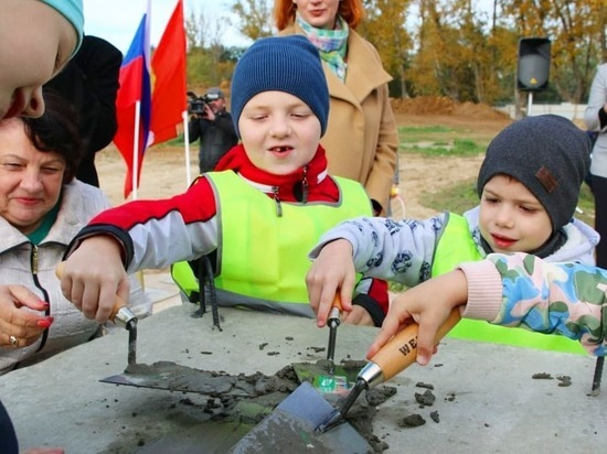 Строительство нового детского сада началось в Серпухове