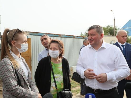 Губернатор провел встречу с дольщиками ЖК «Ахтуба СитиПарк»