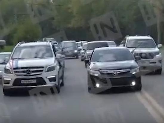 В Иванове органы не заметили массово стреляющий свадебный кортеж