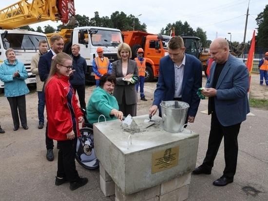 Положено начало большой реконструкции старейшего стадиона Серпухова
