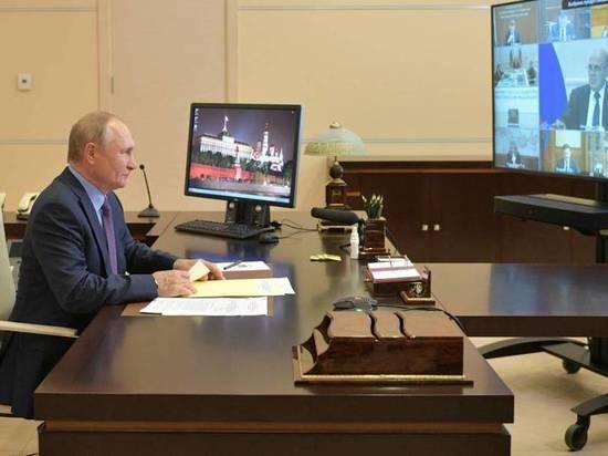 Владимир Путин: Многие решения по развитию страны и укреплению соцсферы были инициированы «Единой Россией»