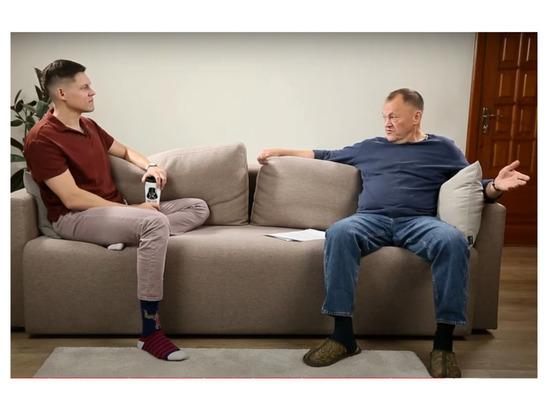 «Я просто работаю»: Владимир Кожанов дал интервью сыну