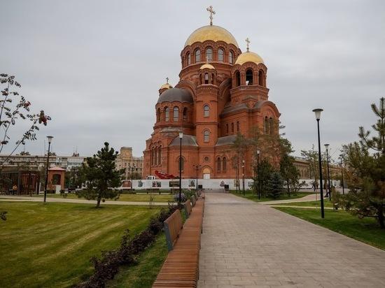 В соборе Александра Невского в Волгограде совершат всенощное бдение