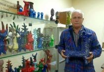 Более 30 лет Юрий Щеглов занимается русским художественным промыслом