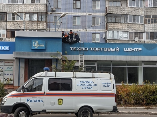 Мужчина, разбившийся на улице Есенина в Рязани, чинил крышу
