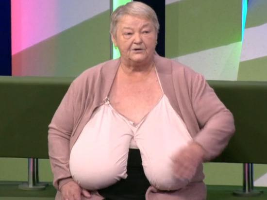 Российская пенсионерка вынуждена спать на четвереньках из-за груди 11-го размера