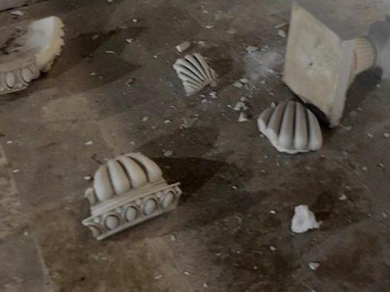 Вандалы повредили Малую Митридатскую лестницу в Керчи после празднования Дня города