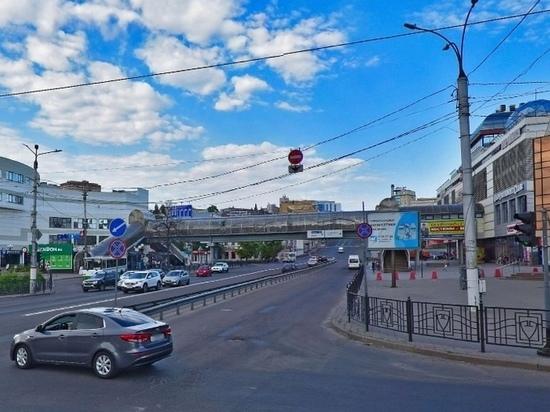 В Курске проект капремонта надземного перехода на Дзержинского обойдется бюджету в 1,2 млн рублей