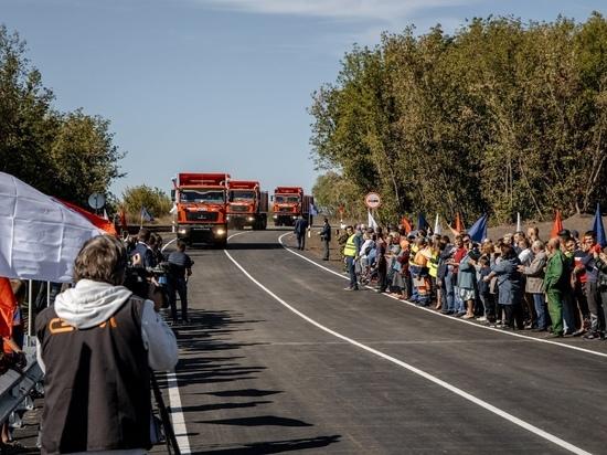 Движение по низководному мосту через реку Сейм открыли в Курской области
