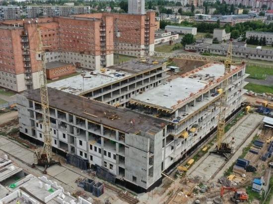 Курская ОКБ открыла набор персонала в новый инфекционный корпус