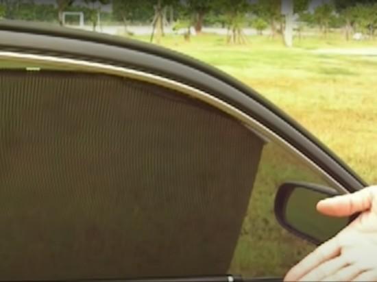 Водителей предупредили о новых правилах об автомобильных шторках