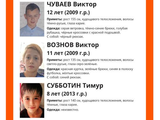 Во Владимировской области пропали трое детей
