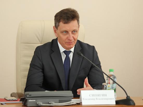 РБК: Владимирский губернатор Сипягин подал в отставку