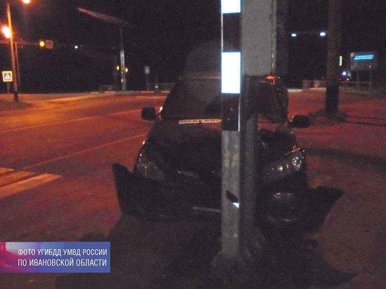 В Ивановской области молодая автоледи устроила ДТП с пострадавшими