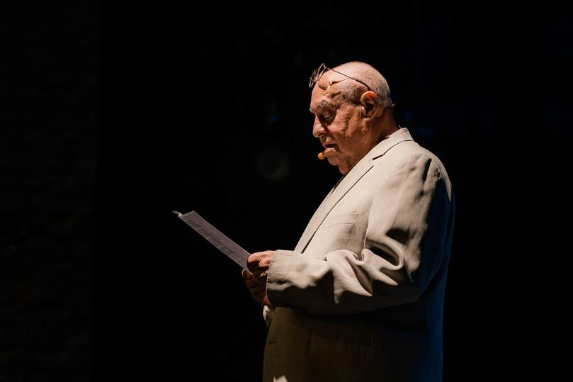 Юбилей поэта Ряшенцева отметили «поэтическим баттлом», превратившимся в шоу
