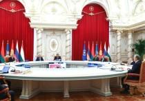 Саммит ОДКБ принес новости не только об увеличении угроз у границ постсоветского  военного блока, но и о количестве заболевших в окружении Владимира Путина