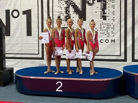 Петрозаводские гимнастки завоевали серебро всероссийских соревнований