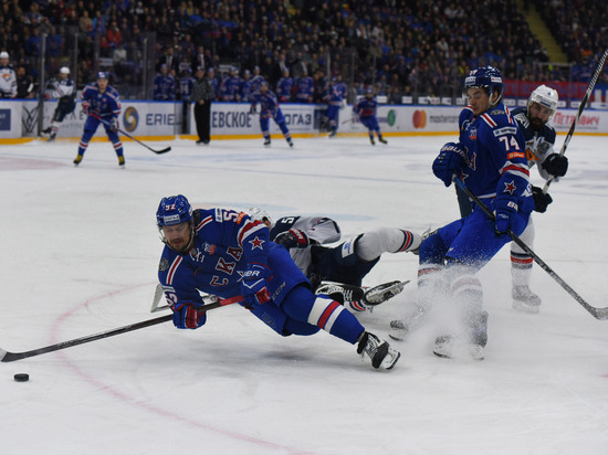 СКА выиграл у «Сочи» в гостевом матче КХЛ