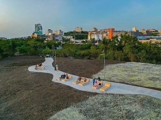 Закончились только работы первого этапа: горожанам обещают места для пикника и пляж