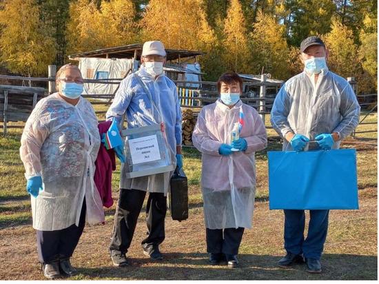 По Якутии досрочно проголосовали около 9,5 тыс. человек в труднодоступных местах