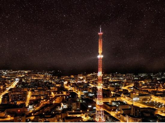 В Якутске телебашню подсветят в честь Всемирного дня безопасности пациентов