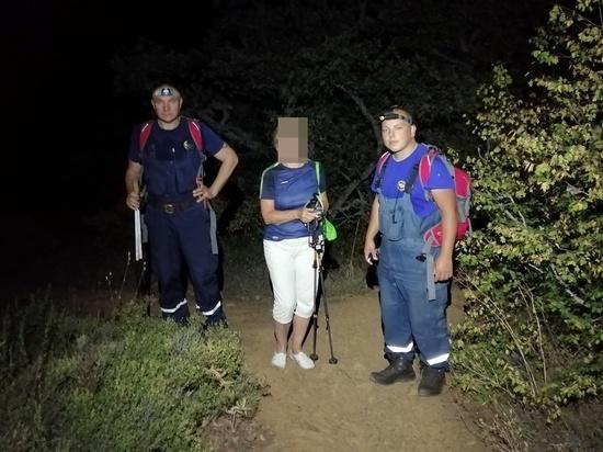 Туристка из Магадана потерялась в Крыму на горе Аю-Даг