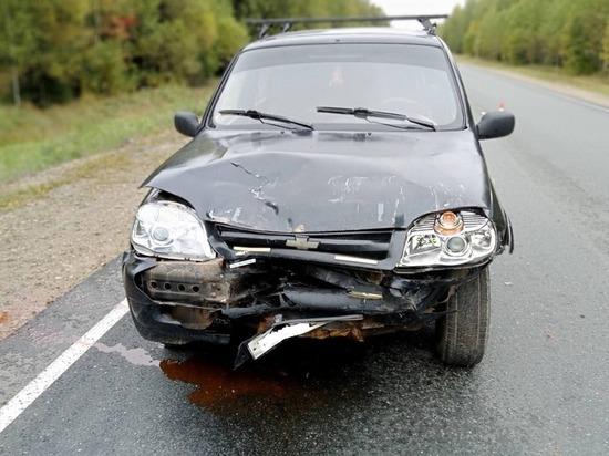 40-летняя пассажирка пострадала в ДТП в Марий Эл