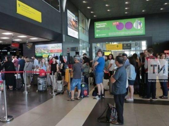 Самолет в Анталью вылетит из Казани с опозданием на 12 часов