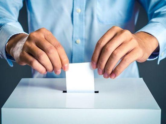 Андрей Турчак проголосовал в Петербурге