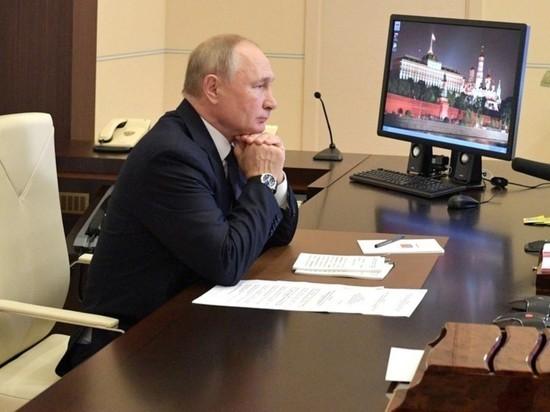 Путин решил голосовать на выборах онлайн
