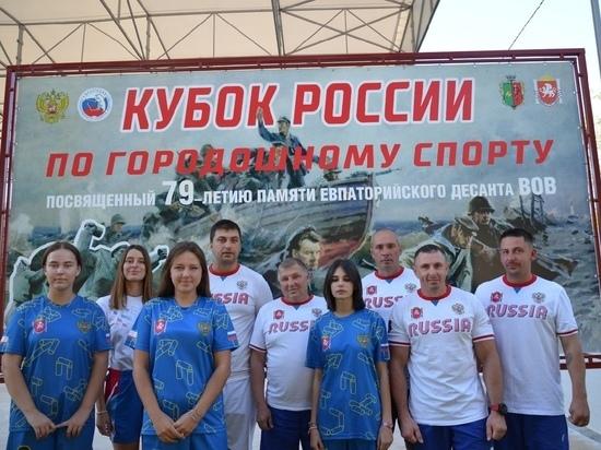 Крымчане взяли серебро и бронзу на Кубке России по городошному спорту