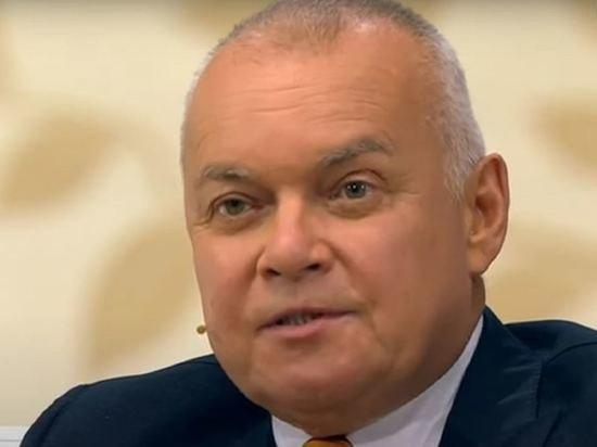 Российский телеведущий Дмитрий Киселев, попавший в больницу с коронавирусом, пошел на поправку
