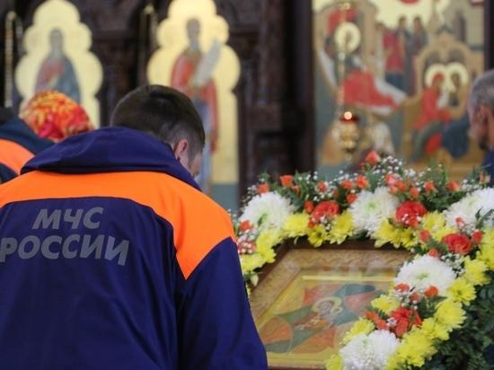 В Нижнем Новгороде состоялся молебен в честь иконы Божьей матери «Неопалимая купина»