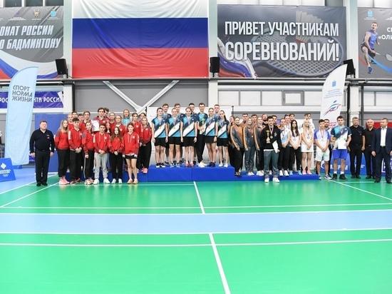 Нижегородская команда завоевала «бронзу» на чемпионате России по бадминтону