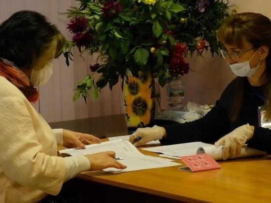 Глава Псковского района Наталья Фёдорова приняла участие в голосовании