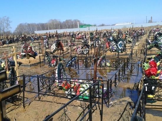 Новый участок Осташинского кладбища будет готов до конца сентября