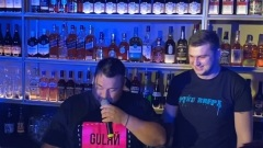 Сергей Жуков в Ярославле показал мастер-класс по приготовлению коктейля Алёшка