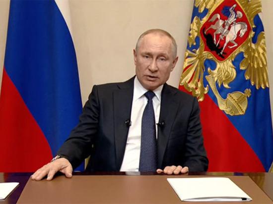 Путин призвал россиян своевременно ревакцинироваться