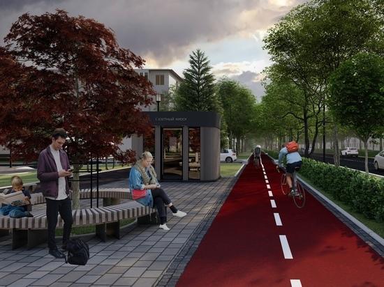 Центр компетенций предложил обустроить в Железногорске красную велодорожку