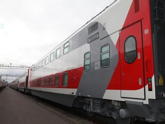 Первый двухэтажный поезд из Петербурга в Кострому отправится 17 декабря