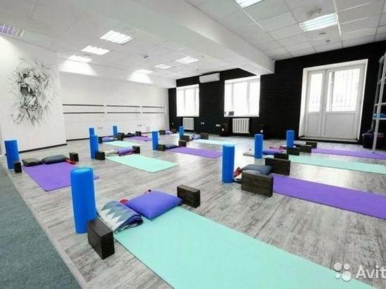 В центре Омска на продажу выставлена студия фитнеса за 380 тысяч рублей