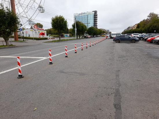 В Кирове на Октябрьском проспекте появились первые делиниаторы