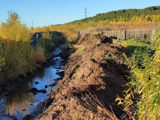 Грунтовые воды отведут в дачном поселке в Чите после жалобы жителей губернатору