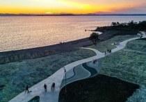 Фото преобразившейся рекреационной зоны на Второй речке демонстрируют пользователи социальной сети «Инстаграм»