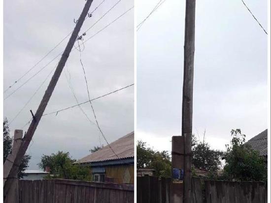 Компания в Забайкалье восстановила электроопоры после вмешательства прокуратуры